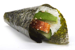 Foto Temaki handroll Chicken dragon